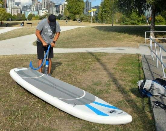 How To Set Up Your Inflatable Stand Up Paddle Board