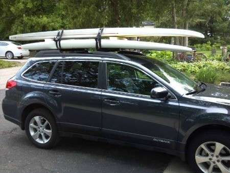 Transporting Paddle Boards In The Car