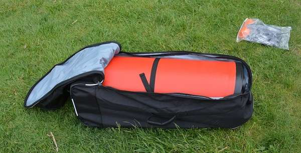 Bag for paddle boarding.